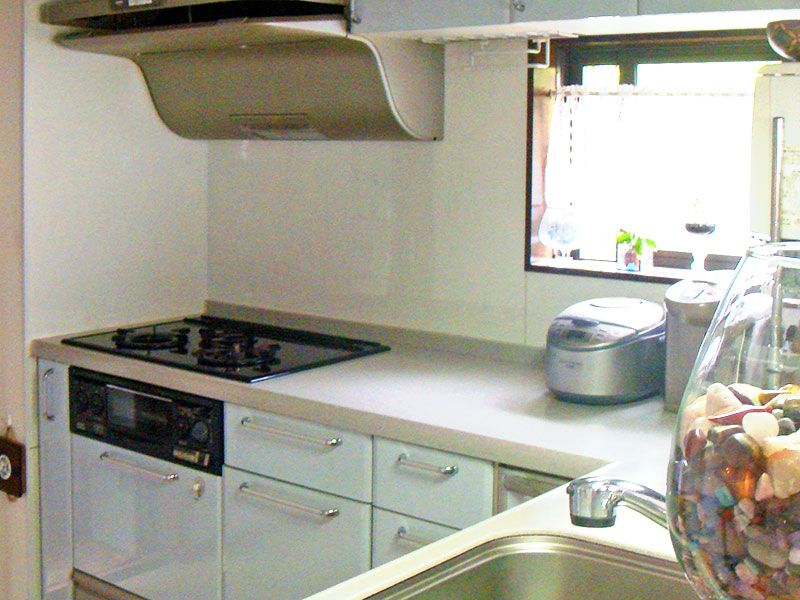 毎日使用するキッチンは、使いやすく、お掃除のしやすいものに